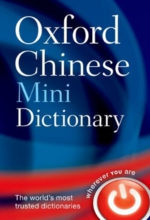 Oxford Chinese Mini Dictionary, Paperback Book