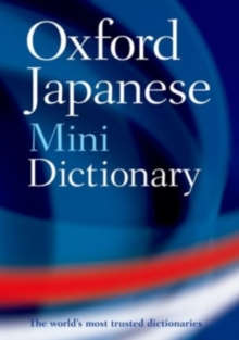 Oxford Japanese Mini Dictionary, Paperback Book