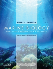 Marine Biology: International Edition : Function, Biodiversity, Ecology, Paperback Book