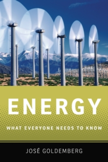 Energy : What Everyone Needs to Know (R), Paperback / softback Book
