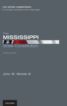 The Mississippi State Constitution, Hardback Book