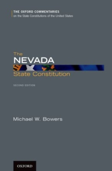 The Nevada State Constitution, Hardback Book