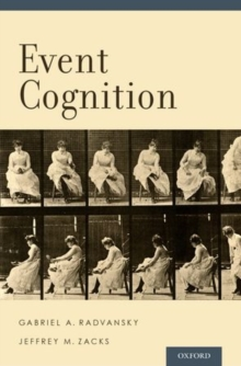 Event Cognition, Hardback Book