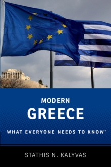 Modern Greece : What Everyone Needs to Know, Paperback Book