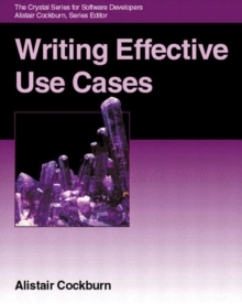 Writing Effective Use Cases, Paperback Book