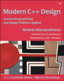 Modern C++ Design : Generic Programming and Design Patterns Applied, Paperback Book