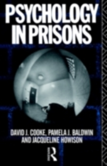 Psychology in Prisons, PDF eBook
