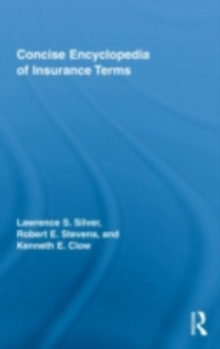 Concise Encyclopedia of Insurance Terms, EPUB eBook
