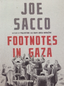 Footnotes in Gaza, Hardback Book