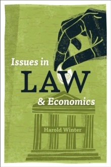 Issues in Law and Economics, Paperback / softback Book
