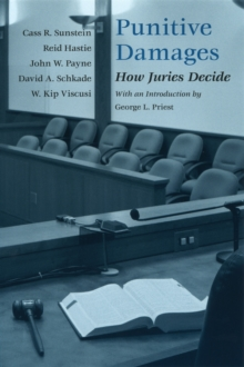 Punitive Damages : How Juries Decide, PDF eBook