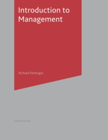 Introduction to Management, Paperback / softback Book