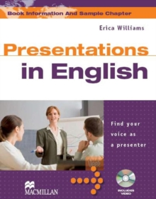 Presentations in English, Mixed media product Book