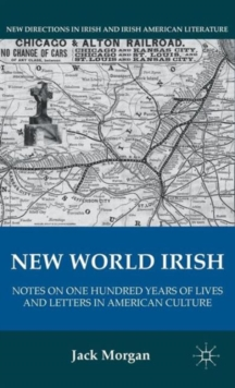 New World Irish : Notes on One Hundred Years of Lives and Letters in American Culture, Hardback Book
