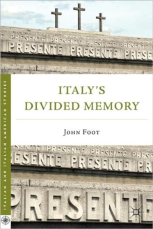 Italy's Divided Memory, Paperback Book
