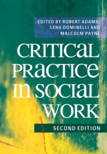 Critical Practice in Social Work, Paperback Book
