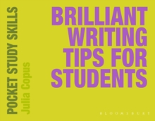 Brilliant Writing Tips for Students, Paperback Book
