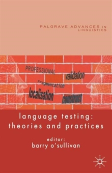 Language Testing : Theories and Practices, Paperback / softback Book