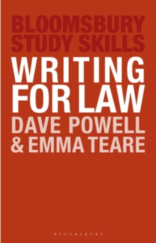 Writing for Law, Paperback / softback Book
