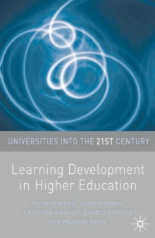 Learning Development in Higher Education, Paperback / softback Book
