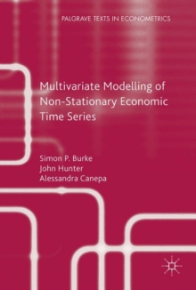 Multivariate Modelling of Non-Stationary Economic Time Series, Paperback / softback Book