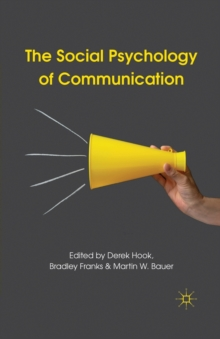 The Social Psychology of Communication, Paperback / softback Book