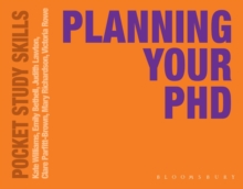 Planning Your PhD, Paperback Book