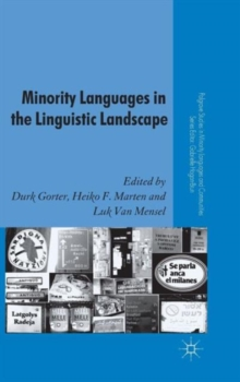 Minority Languages in the Linguistic Landscape, Hardback Book
