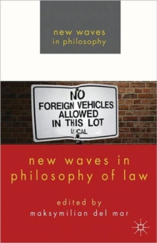 New Waves in Philosophy of Law, Paperback / softback Book