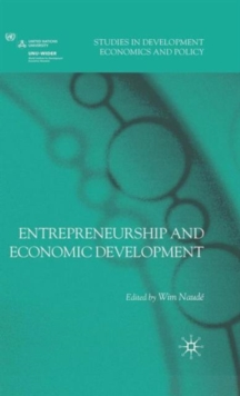 Entrepreneurship and Economic Development, Hardback Book
