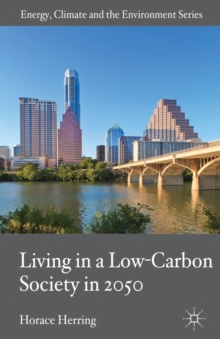 Living in a Low-Carbon Society in 2050, Hardback Book