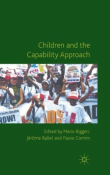 Children and the Capability Approach, Hardback Book