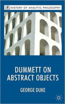 Dummett on Abstract Objects, Hardback Book