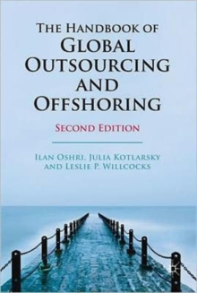 The Handbook of Global Outsourcing and Offshoring, Hardback Book