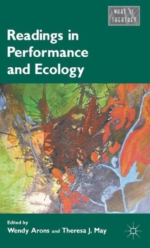 Readings in Performance and Ecology, Hardback Book