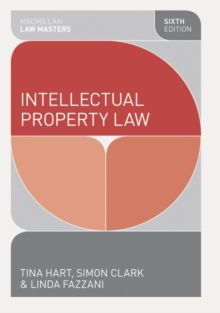 Intellectual Property Law, Paperback / softback Book