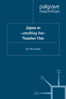 Japan as -anything but- Number One, PDF eBook