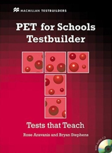 PET for Schools Testbuilder Student's Book with key & CD Pack, Mixed media product Book