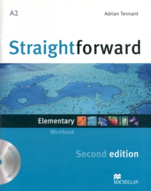 Straightforward 2nd Edition Elementary Level Workbook without key & CD, Mixed media product Book