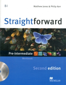 Straightforward 2nd Edition Pre-Intermediate Level Workbook without key & CD, Mixed media product Book
