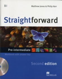 Straightforward 2nd Edition Pre-Intermediate Level Workbook with key & CD Pack, Mixed media product Book