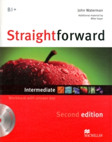 Straightforward 2nd Edition Intermediate Level Workbook with key & CD Pack, Mixed media product Book