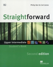 Straightforward 2nd Edition Upper Intermediate Level Student's Book, Paperback Book