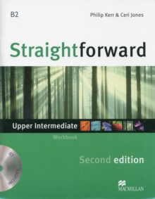 Straightforward 2nd Edition Upper Intermediate Level Workbook without key & CD, Mixed media product Book