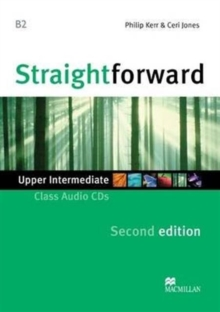 Straightforward 2nd Edition Upper Intermediate Level Class Audio CDx2, CD-Audio Book