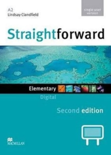 Straightforward 2nd Edition Elementary Level Digital DVD Rom Single User, DVD-ROM Book