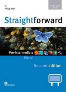 Straightforward 2nd Edition Pre-Intermediate Level Digital DVD Rom Single User, DVD-ROM Book