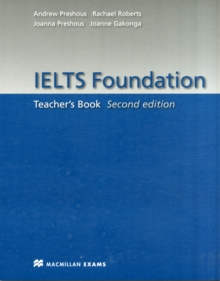 IELTS Foundation Second Edition Teacher's Book, Paperback / softback Book