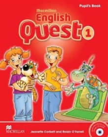 Macmillan English Quest Level 1 Pupil's Book Pack, Mixed media product Book