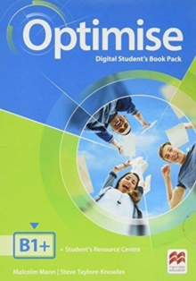 Optimise B1+ Digital Student's Book Pack, Mixed media product Book
